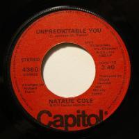 "Natalie Cole Unpredictable You (7"")"